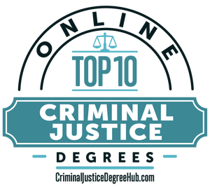 Top 10 Online Criminal Justice Degrees Award