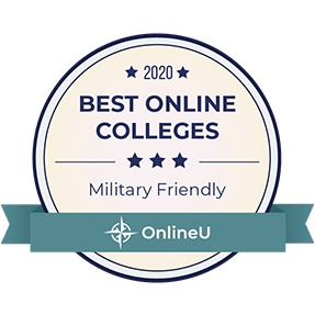 Military-Friendly College Badge - Best Online Colleges