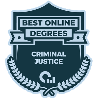 Best Online Degrees Criminal Justice Award