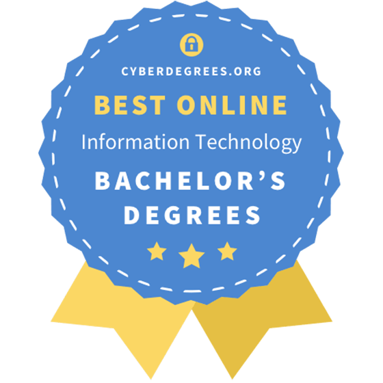 Cyber Degrees Best Online Bachelors Degree in IT Award