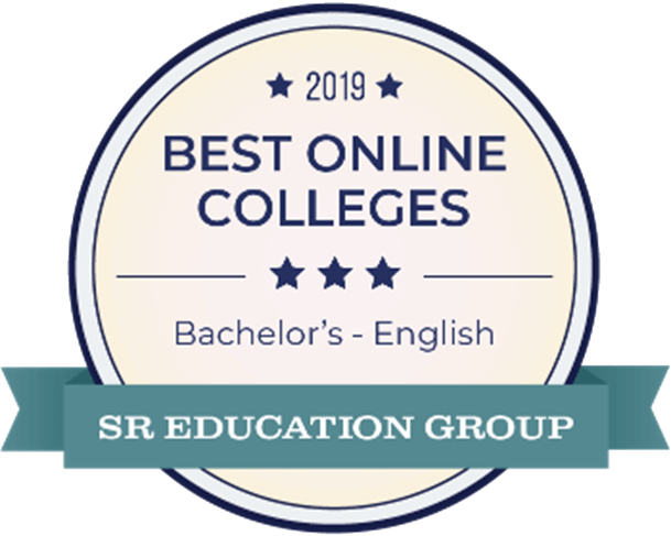 Best Online Bachelors Degree in English Award