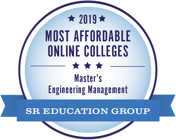 Most Affordable Online Master's in Engineering Management Award