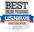 <h6>Ranked One of the Best Online Programs by U.S. News & World Report for 2019</h6>