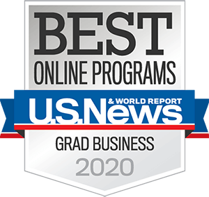Best Online Graduate Business Program in the Nation by U.S. News & World Report