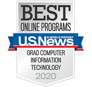 Best Online Graduate Information Technology Program in the Nation by U.S. News & World Report