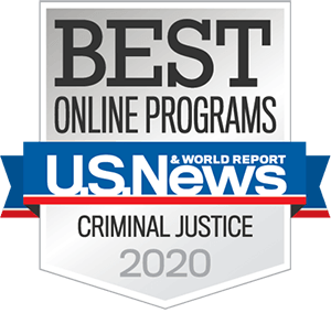 Best Online Master's in Criminal Justice Program in the Nation by U.S. News & World Report