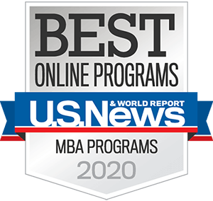 Best Online MBA Program in the Nation by U.S. News & World Report