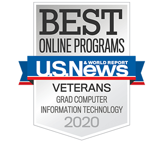 Best Online Graduate  Computer Information Technology Programs for Veterans in the Nation by U.S. News & World Report