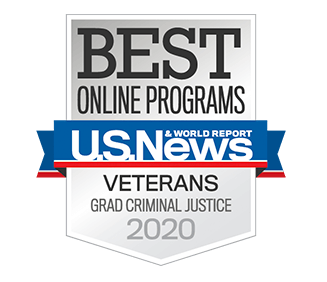 Best Online Graduate Criminal Justice Programs for Veterans in the Nation by U.S. News & World Report Award