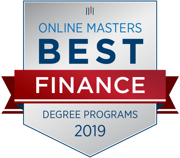 Best Finance Degree Program Badge
